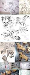 Some animals sketches by Ricken-Art