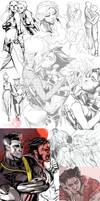 Some X-men sketches