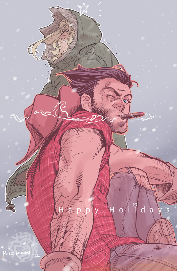 Happy Holidays by Ricken-Art