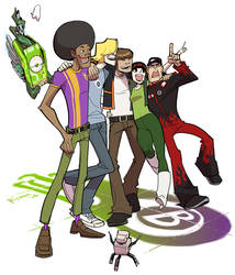 Motorcity-The burners by Ricken-Art