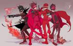 KICK-ASS: Red Mist/The Mofo by Ricken-Art