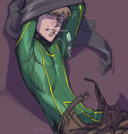 KICK-ASS: tries to save the people (and himself)