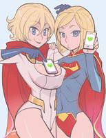 Super ladies by Ricken-Art