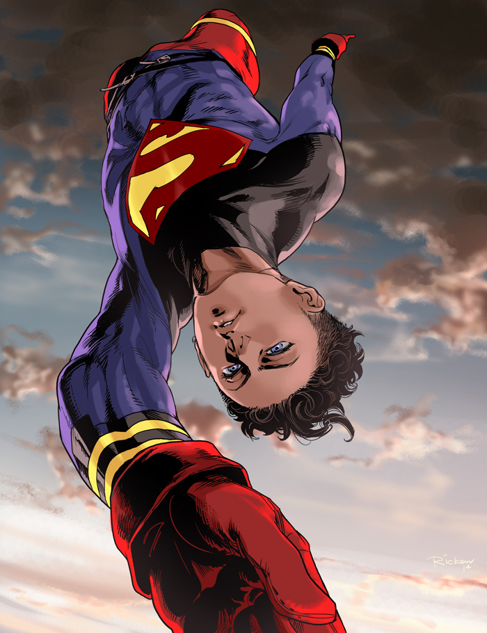 Kon-El the Superboy by Ricken-Art