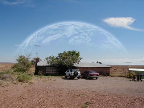 Earth as a Moon