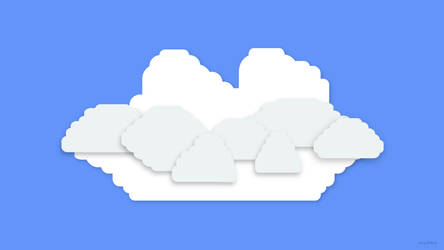 Lego Clouds - 1920x1080 - Smaller by NumFive