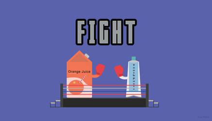 Toothpaste vs Orange Juice by NumFive