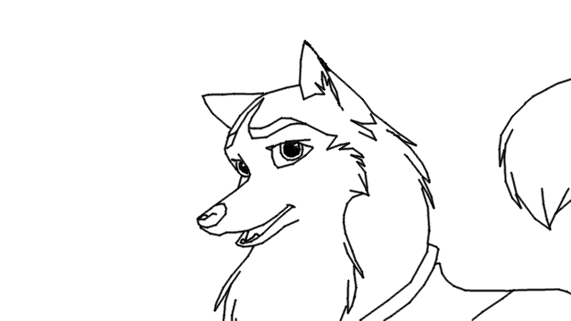 balto howling coloring pages - photo #18