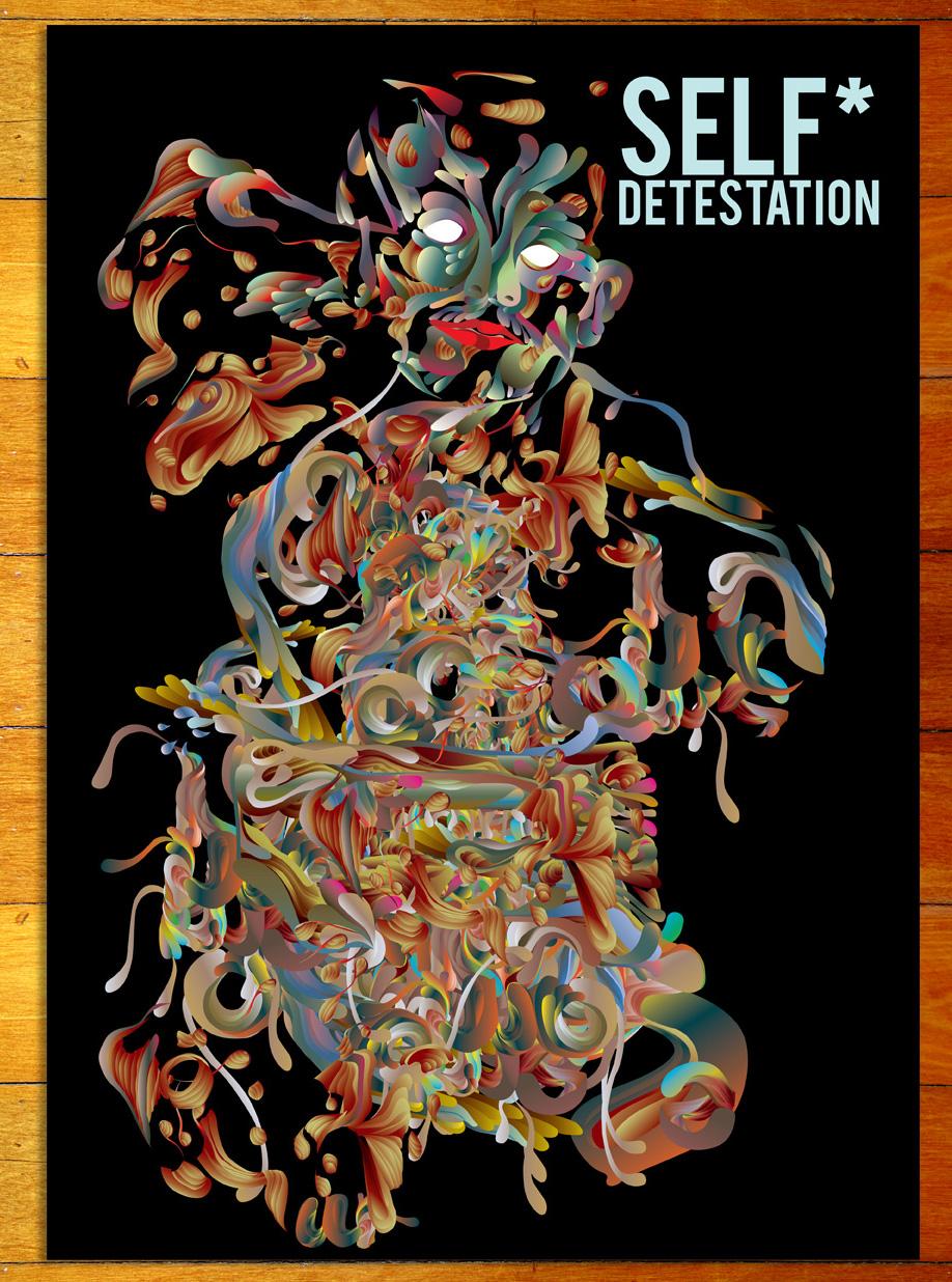 self destruktive by roompoetliar