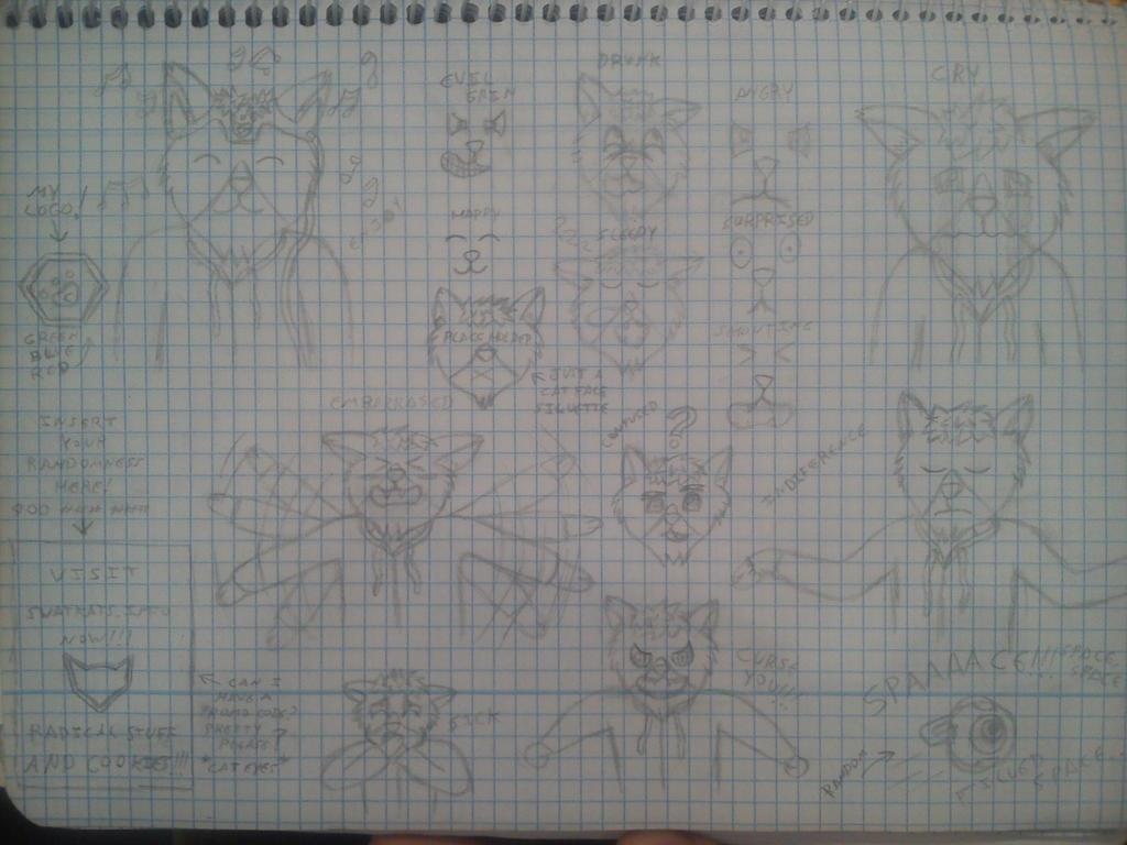 Cait Avatar sketches V2 by jdragon567