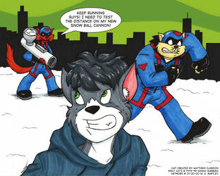 Snowball Cannon Testing (by FelonyKat)