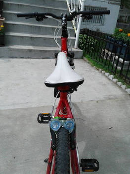 Modified my bike for the first time I suppose...
