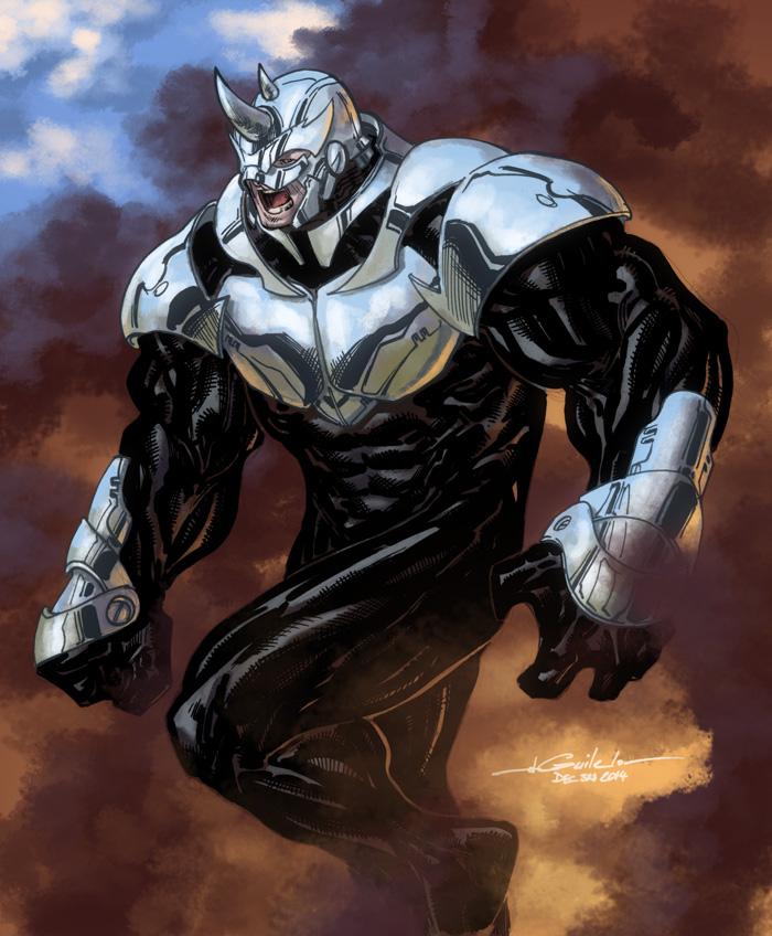Spider man villain rhino