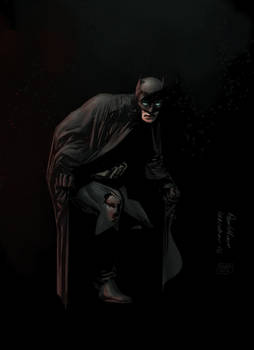 Batman by Paul Moore - colors