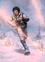 Commander Leia by Paul Moore - colors by Biram-Ba