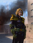 Judge Anderson by Paul Moore - colors