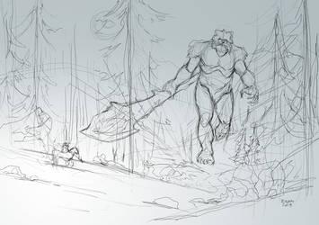 dsc 72-Odin vs Ymir by Biram-Ba