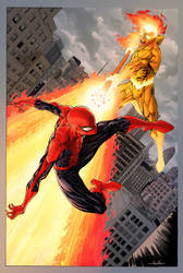 Spider-Man vs Firelord by Guile -colors