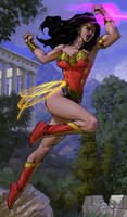 Wonder Woman By Spiderguile Colors