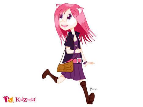 Digital Sketch - Tokyo Cross (Chika from KidZania)