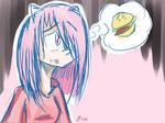 Fast Drawing - Hungry Gal (Chika from KidZania)