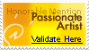 Stamp - 01 - Honorable Mention (Passionate Artist) by nicolasbahamondes