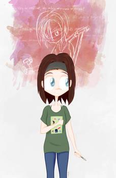 Digital Sketch - Ona jest Alisssia