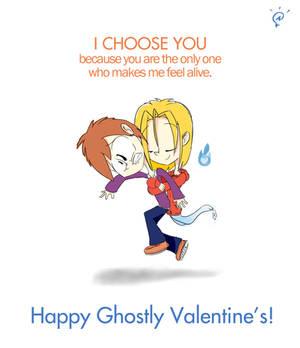 Digital Sketch - Masaki is my Ghostly Valentine!