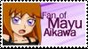 Stamp - 08 - Fan of Mayu Aikawa by nicolasbahamondes