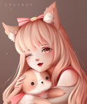 Commission aiko by Lulybot