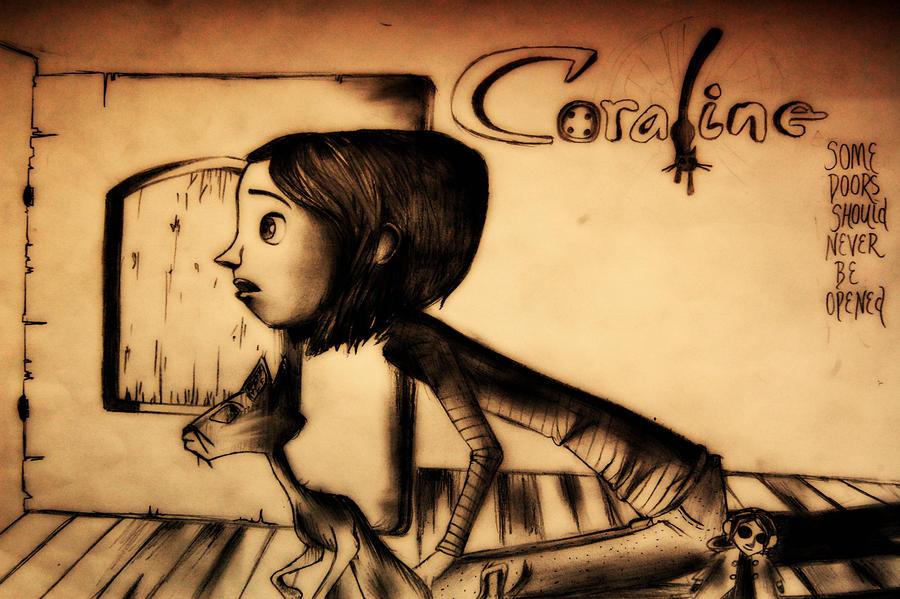 Coraline Movie Sketch by MichellyMe on DeviantArt