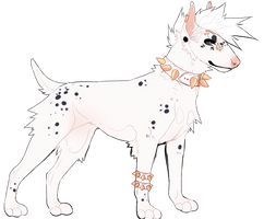 Bull Terrier Dalmatian HOLD by Softhetic