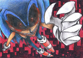 Sonic.exe FanArt by ICUdhara