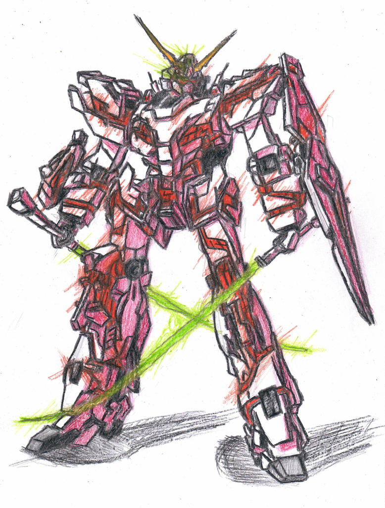 gundam unicorn fanart by icudhara on deviantart