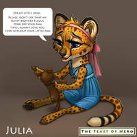 Little Julia and her toy