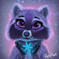 Fairy Raccoon by 1Vestina