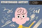 Storyboard Artist Photoshop Brushes