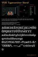 VGA Typewriter Serif by Frankqbe