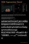VGA Typewriter Serif