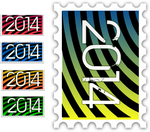 2014 stamps collection