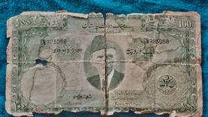 rare Pakistan currency note