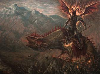 Gothmog, High Captain of Angband by MarioFegan