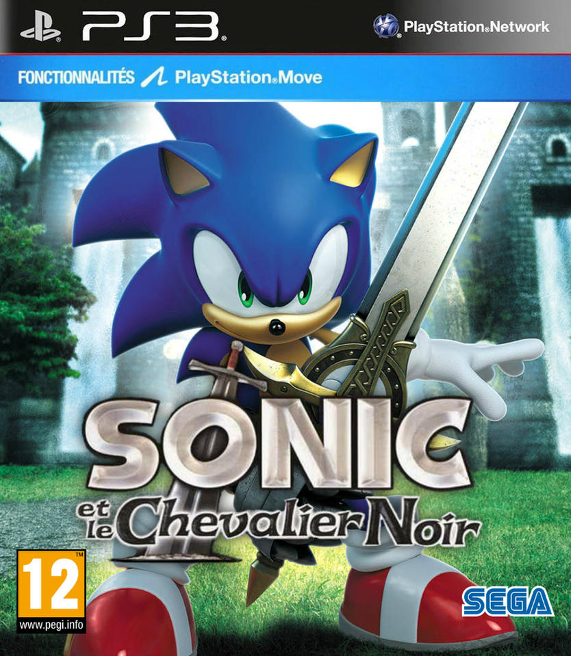 sonic and the black knight fan cover fra ps3 by