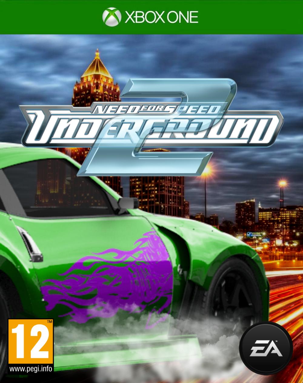 Need For Speed Underground 2 Fan Cover One By Xenokoharinezumi