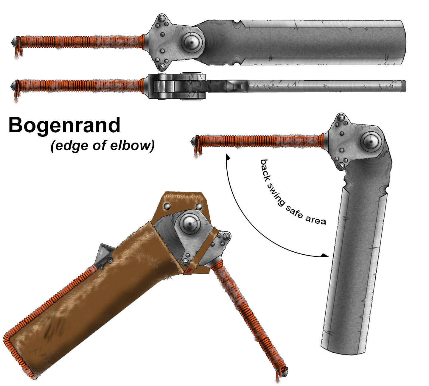 Bogenrand - Flail Sword by tower015