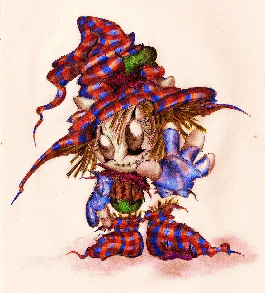 Scarecrow Fella by Zackarra