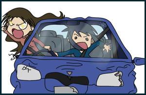 Yukari's Death-Mobile by goldfish078