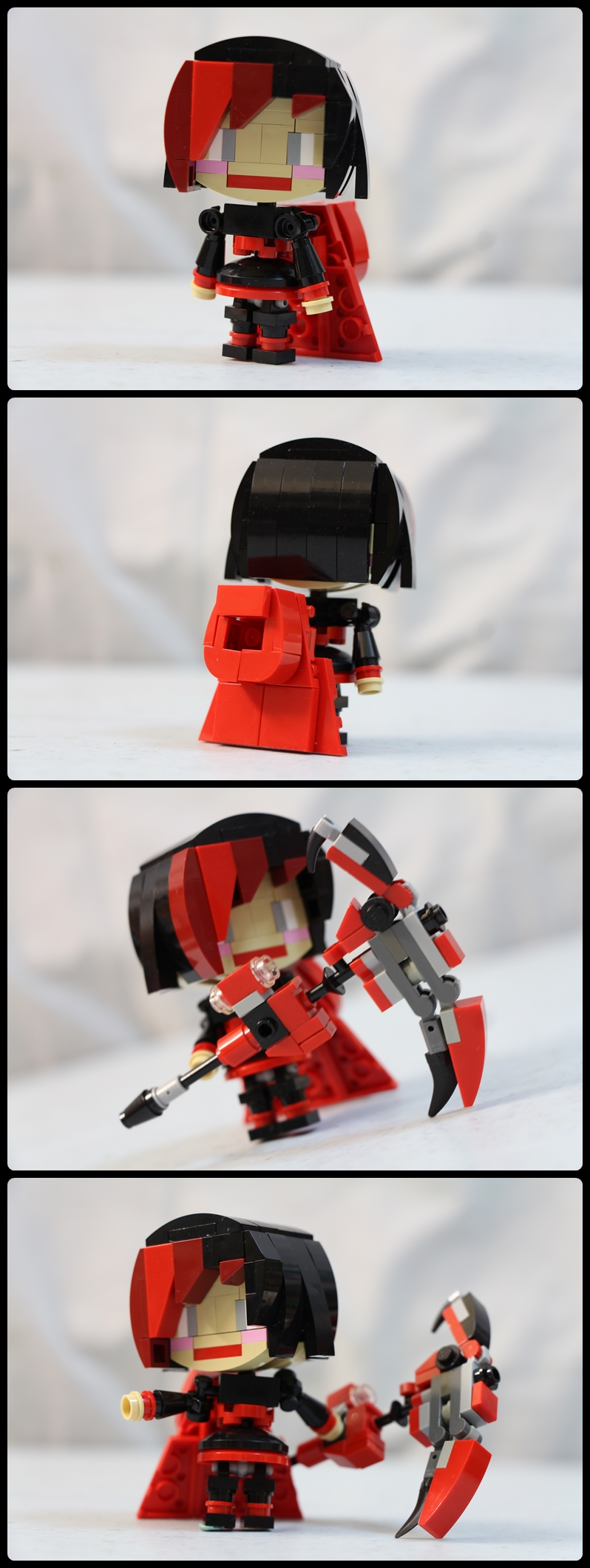 lego rwby chibi ruby rose by ejaylee on deviantart. Black Bedroom Furniture Sets. Home Design Ideas