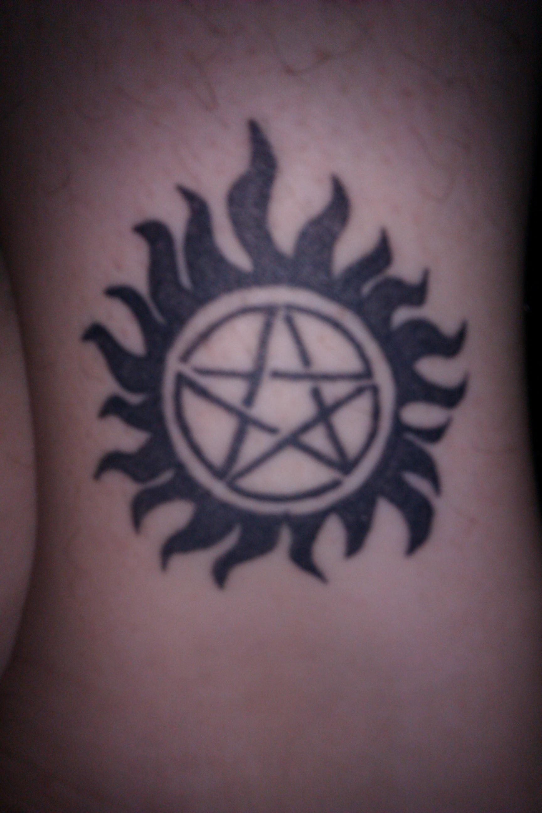My Supernatural Tattoo by m-granell on DeviantArt