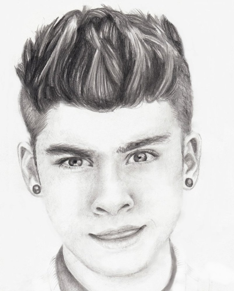 Drawing of zayn malik by cutie80693